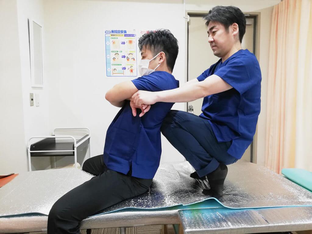 関節矯正練習会
